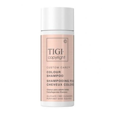 Шампунь для окрашенных волос TIGI COPYRIGHT CUSTOM CARE™ COLOUR SHAMPOO 12X50МЛ TRAVEL SIZE - Lookstore (1)