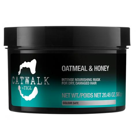 Интенсивная маска для питания сухих и ломких волос TIGI Catwalk Oatmeal & Honey 200 ml - Lookstore (1)