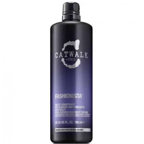 Кондиционер для коррекции цвета осветленных волос TIGI Catwalk Fashionista 750ml - Lookstore (1)