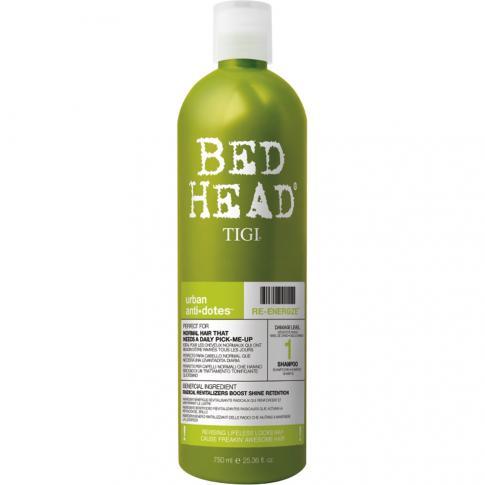 Кондиционер для нормальных волос уровень 1 TIGI Urban Anti+dotes Re-Energize 750 ml - Lookstore (1)