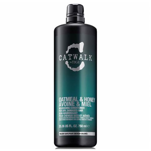 Кондиционер для питания сухих и ломких волос TIGI Catwalk Oatmeal & Honey 750 ml - Lookstore (1)
