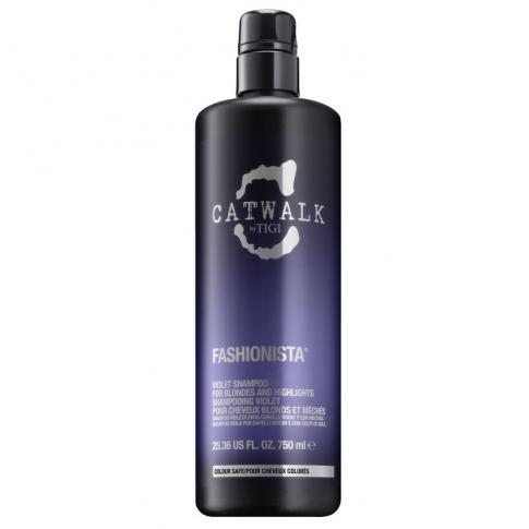 Шампунь для коррекции цвета осветленных волос TIGI Catwalk Fashionista 750ml - Lookstore (1)