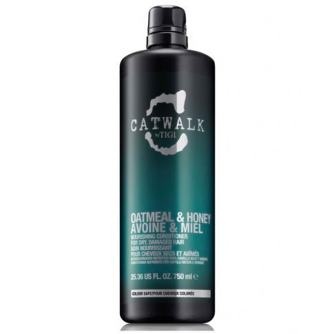 Шампунь для питания сухих и ломких волос TIGI Catwalk Oatmeal & Honey 750 ml - Lookstore (1)