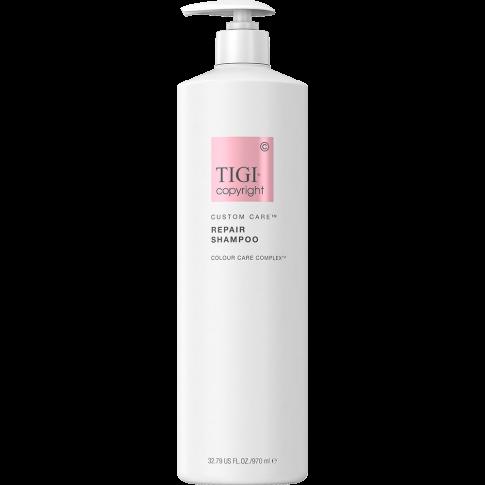 Шампунь для волос восстанавливающий TIGI COPYRIGHT CUSTOM CARE™ REPAIR SHAMPOO 970мл - Lookstore (1)