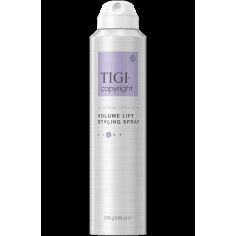 Спрей-мусс для придания объема волосам TIGI COPYRIGHT CUSTOM CARE™ VOLUME LIFT SPRAY MOUSSE 240мл - Lookstore (1)