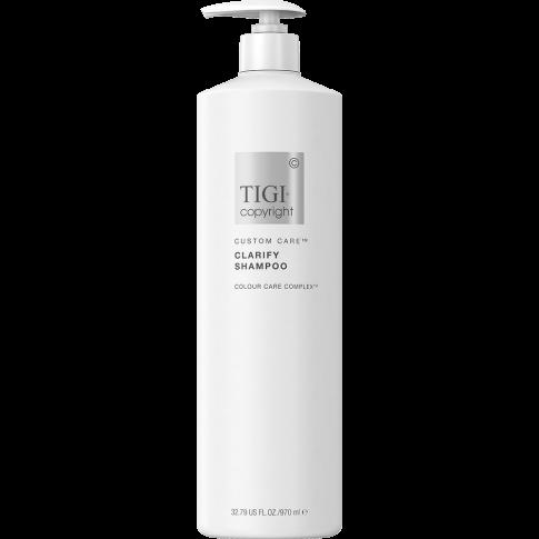 Очищающий шампунь для волос TIGI COPYRIGHT CUSTOM CARE™ CLARIFY SHAMPOO 970мл - Lookstore (1)
