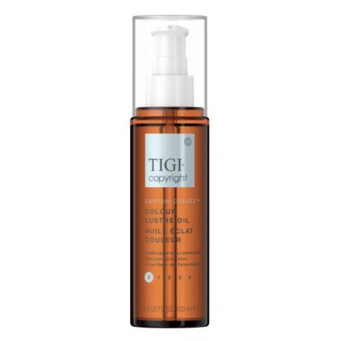 Масло для защиты цвета окрашенных волос TIGI COPYRIGHT CUSTOM CARE™ COLOUR LUSTRE OIL 100мл - Lookstore (1)
