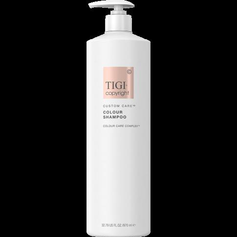 Шампунь для окрашенных волос TIGI COPYRIGHT CUSTOM CARE™ COLOUR SHAMPOO 970мл Бессульфатный - Lookstore (1)