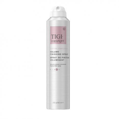 Финишный лак для сохранения объема волос TIGI COPYRIGHT CUSTOM CARE™ VOLUME FINISHING HAIRSPRAY 300мл - Lookstore (1)